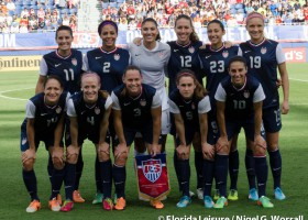 Record Crowd Sees USA Beat Brazil 4-1 in Orlando