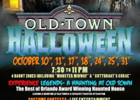 FREE Halloween Event Returns to Old Town This Weekend!