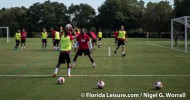 Canadian Men's National Team prepare for Panama game in Orlando