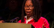 Whoopi Goldberg at Epcot's Candlelight Processional