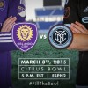 Orlando City to face New York City FC in MLS Home Opener at Citrus Bowl