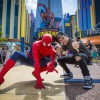 Teen Celebrity Austin Mahone visits Universal Orlando