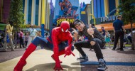 Teen Celebrity Austin Mahone visits Universal Orlando