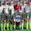 U.S. Women's National Team defeat Brazil 3-1 in front of record crowd.