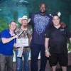 Shaq Films Season Finale of Tanked at New SEA LIFE Orlando Aquarium
