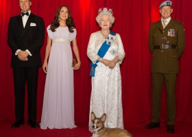 Madame Tussauds Orlando Welcomes Britain's Royal Family
