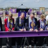 Orlando City Soccer new stadium goes upright as countdown to MLS season continues.