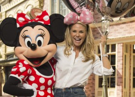 Christie Brinkley visits Walt Disney World Resort