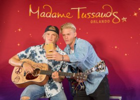 Cody Simpson Unveils New Figure for Madame Tussauds Orlando