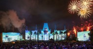 "Unleash Your Inner Jedi! ""Star Wars: A Galactic Spectacular"" Fireworks and Projection Show Immerses Disney's Hollywood Studios Guests in Galaxies Far, Far Away"