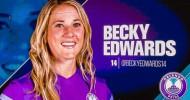 Orlando Pride Midfielder Becky Edwards Announces Retirement