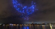 Disney and Intel Light Up the Skies at Disney Springs With Hundreds of Twinkling Choreographed Show Drones