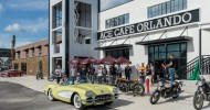 Ace Cafe Orlando debuts with Grand Opening weekend for the first Ace Cafe in the USA featuring cool cars and hot bikes, charity ride, motorcycle raffle, special guests, free rock 'n roll concerts,  site-wide giveaways, activities, and more