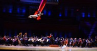 Cirque de la Symphonie: Cirque goes to the cinema brings acrobats, jugglers and aerial flyers soaring high above the Orlando Philharmonic Orchestra