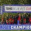 US Women's National Team wins SheBelieves Cup in Orlando