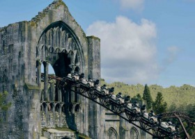 Universal Orlando Resort Creates the Most Thrilling and Innovative Coaster Experience Yet with Hagrid's Magical Creatures Motorbike Adventure
