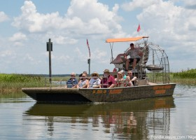 Boggy Creek Airboat Rides showcase Florida history and adventure