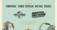 Tobymac, Chris Tomlin, Newsboys and Switchfoot to Headline Rock the Universe 2020 at Universal Orlando Resort