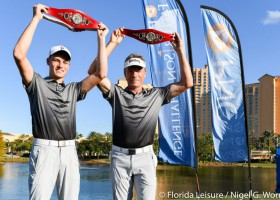 Team Langer wins PNC Father Son Challenge for the second time