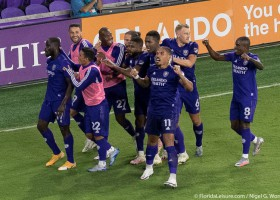 10 Man Orlando City secures top four in MLS Eastern Conference with victory over Columbus Crew