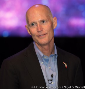Rick Scott at 2014 Florida Governor's Conference on Tourism - 22nd September 2014 (Photographer: Nigel G Worrall)