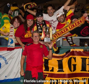 Tampa Bay Rowdies vs. Fort Lauderdale Strikers - 8th October 2014 (Photographer: Nigel Worrall)