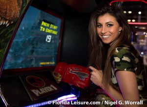 Nicole Spencer at IAAPA Attractions Expo, Orlando, Florida - 20th November 2014 (Photographer: Nigel G. Worrall)