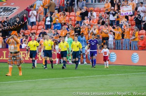 Houston Dynamo vs Orlando City Soccer, BBVA Compass Stadium, Houston, Texas - 13th March 2015 (Photographer: Nigel G Worrall)