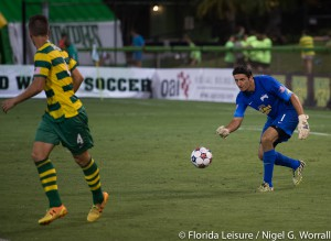 Tampa Bay Rowdies 3 vs Jacksonville Armada FC 2, Al Lang Stadium, St. Petersburg,Florida - 25th April 2015 (Photographer: Nigel G Worrall)
