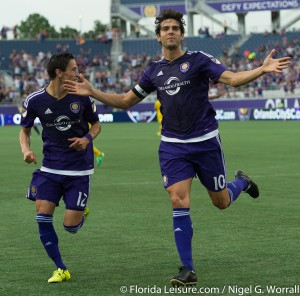 Kaká - Orlando City Soccer 2 Columbus Crew 0, U.S.Open Cup, Orlando Citrus Bowl, Orlando, Florida - 30th June 2015 (Photographer: Nigel G Worrall)