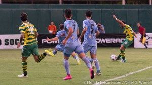 Tampa Bay Rowdies 1 Minnesota United 3, Al Lang Stadium, St. Petersburg, Florida - 22nd August 2015 (Photographer: Nigel G Worrall)