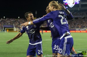 Orlando City Soccer 3 Sporting Kansas City 1, Orlando Citrus Bowl, Orlando, Florida - 13 September 2015  (Photographer: Nigel G. Worrall)