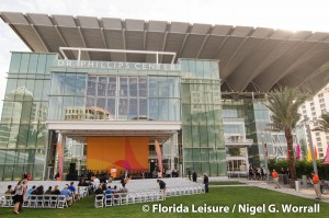 Dr. Phillips Center for the Performing Arts Grand Opening, Orlando, Florida - 6th November 2014 (Photographer: Nigel G. Worrall)