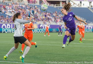Orlando Pride 1 Houston Dash 0, Camping World Stadium, Orlando, Florida - 23rd June 2016 (Photographer: Nigel G Worrall)