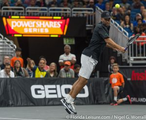 Powershares Tennis Series with John McEnroe, Jim Courier, Andy Roddick and James Blake, Amway Center, Orlando, 5th January 2017 (Photographer: Nigel G Worrall)