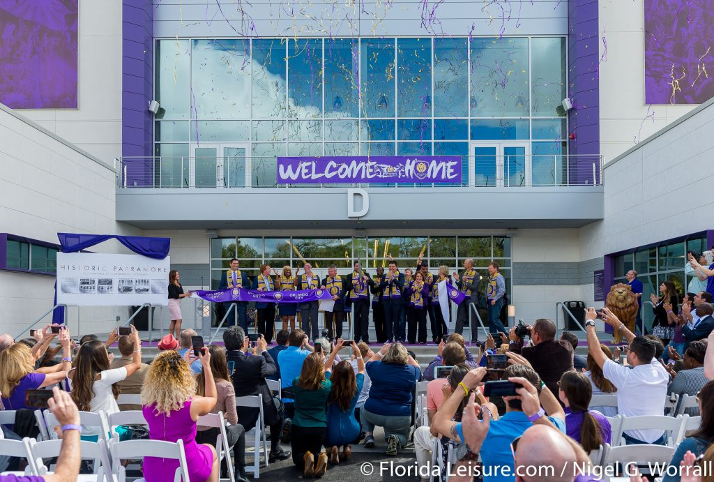 Orlando City Soccer Ribbon Cutting at Orlando City Soccer Stadium, Orlando, Orlando, 24th February 2017 (Photographer: Nigel G Worrall)
