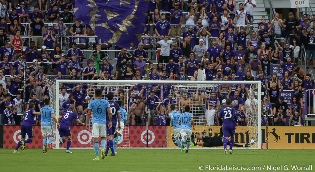 Orlando City Soccer 0 New York City FC 3, Orlando City Soccer Stadium, Orlando, 21st May 2017 (Photographer: Nigel G Worrall)