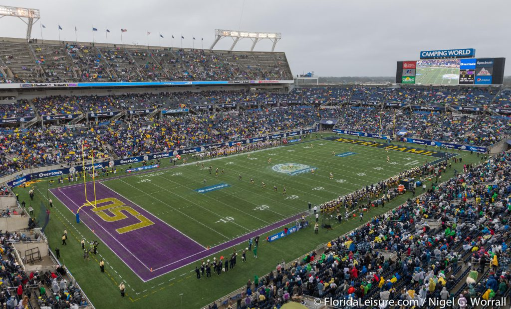 2018 Citrus Bowl - Notre Dame 21 LSU 17 (Photographer: Nigel G Worrall)