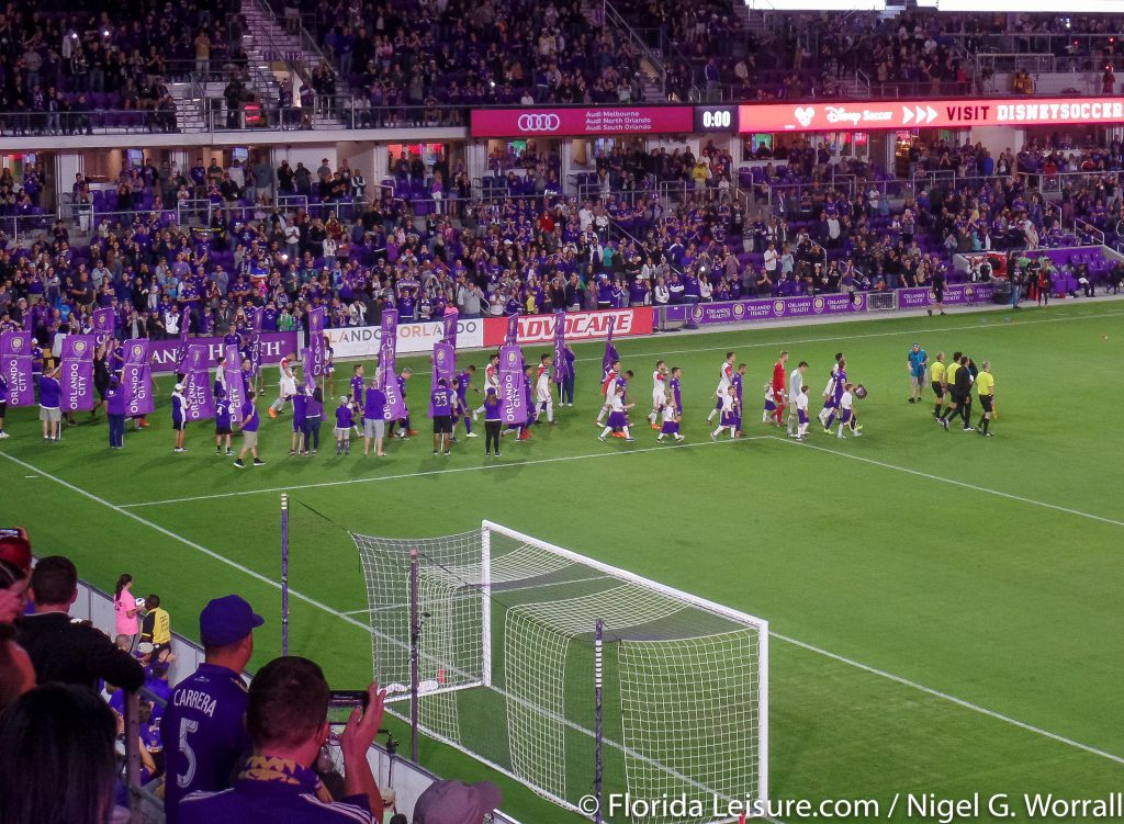 Orlando City Soccer 1 DC United 1, Orlando City Stadium, Orlando, Florida - 4th March 2018 (Photographer: Nigel G Worrall)